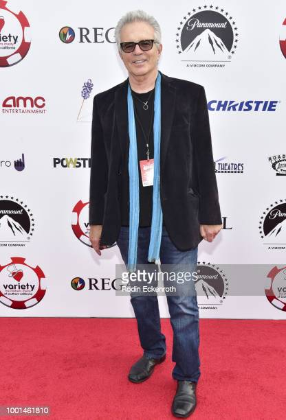 Actor Tony Denison attends the 8th Annual Variety Children's Charity of SoCal Texas Hold 'Em Poker Tournament at Paramount Studios on July 18 2018 in...