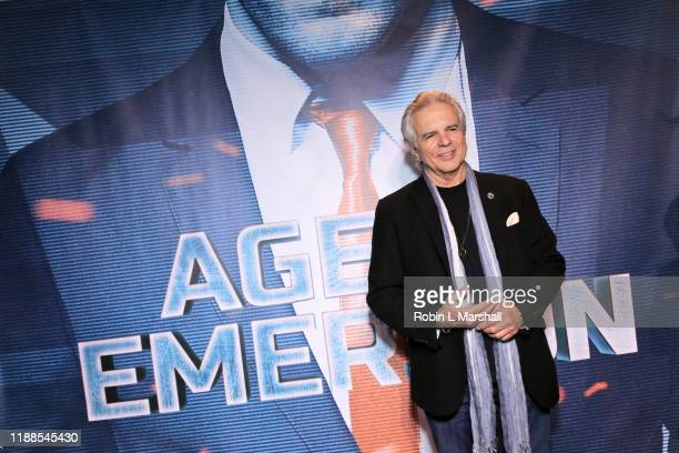 Actor Tony Denison attends the Premiere of Agent Emerson at iPic Theater on November 18 2019 in Los Angeles California