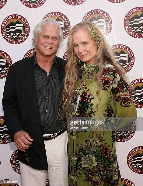 Actor Tony Dow and Lauren Shulkind attend The Festival of Arts/Pageant of The Masters 2009 Gala Benefit at the Irvine Bowl Park on August 29 2009 in...