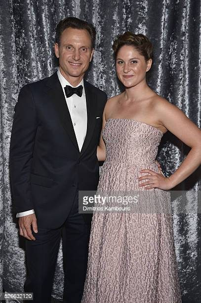 Actor Tony Goldwyn and Jane Musky attend the Yahoo News/ABC News White House Correspondents' Dinner PreParty at Washington Hilton on April 30 2016 in...