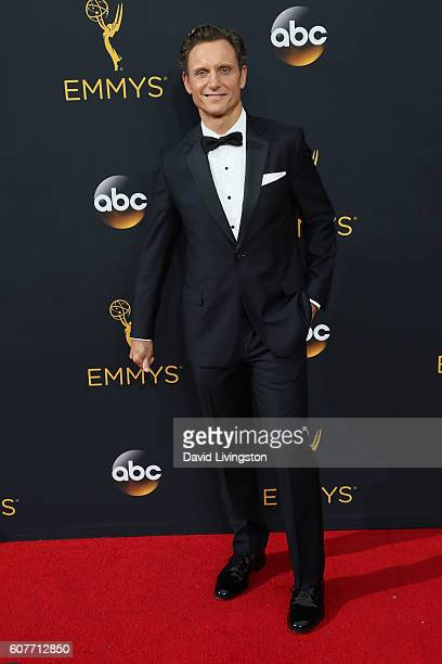 Actor Tony Goldwyn arrives at the 68th Annual Primetime Emmy Awards at the Microsoft Theater on September 18 2016 in Los Angeles California