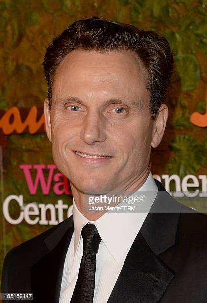 Actor Tony Goldwyn arrives at the Wallis Annenberg Center for the Performing Arts Inaugural Gala presented by Salvatore Ferragamo at the Wallis...