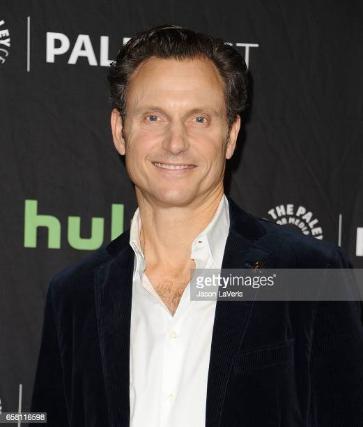 Actor Tony Goldwyn attends the 'Scandal' event at the Paley Center for Media's 34th annual PaleyFest at Dolby Theatre on March 26 2017 in Hollywood...