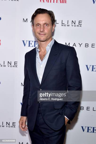 "Actor Tony Goldwyn attends the Vanity Fair and Maybelline New York toast of the Emmy-Nominated ""VEEP"" on August 22, 2014 in West Hollywood,..."