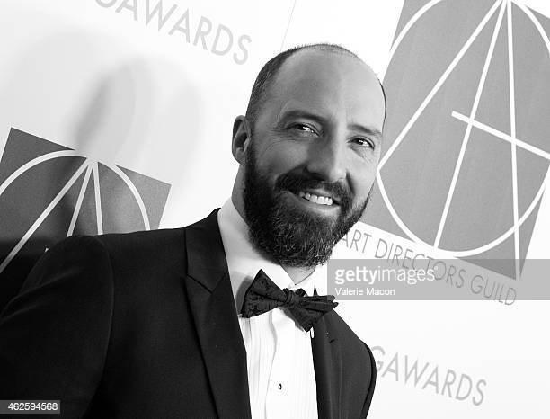 Actor Tony Hale arrives at the 19th Annual Art Directors Guild Excellence In Production Design Awards at The Beverly Hilton Hotel on January 31 2015...