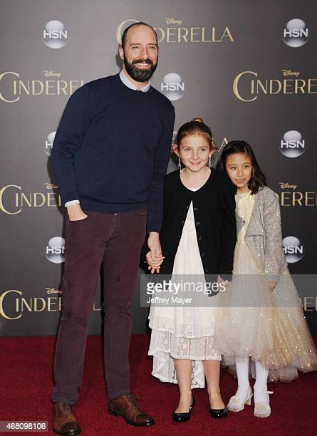 Actor Tony Hale arrives at the World Premiere of Disney's 'Cinderella' at the El Capitan Theatre on March 1 2015 in Hollywood California