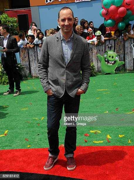 Actor Tony Hale arrives for the Premiere Of Sony Pictures' Angry Birds held at Regency Village Theatre on May 7 2016 in Westwood California