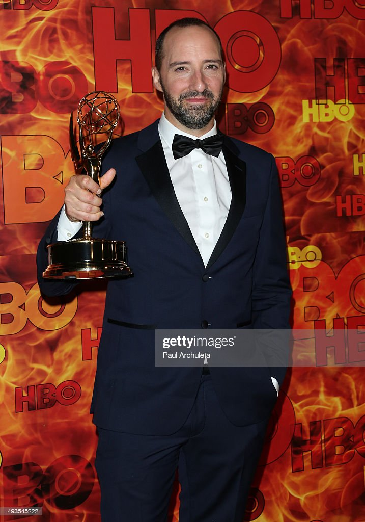 Actor Tony Hale attends HBO's Official 2015 Emmy After Party at The Plaza at the Pacific Design Center on September 20, 2015 in Los Angeles, California.