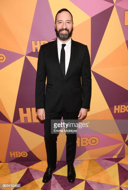 Actor Tony Hale attends HBO's Official Golden Globe Awards After Party at Circa 55 Restaurant on January 7 2018 in Los Angeles California