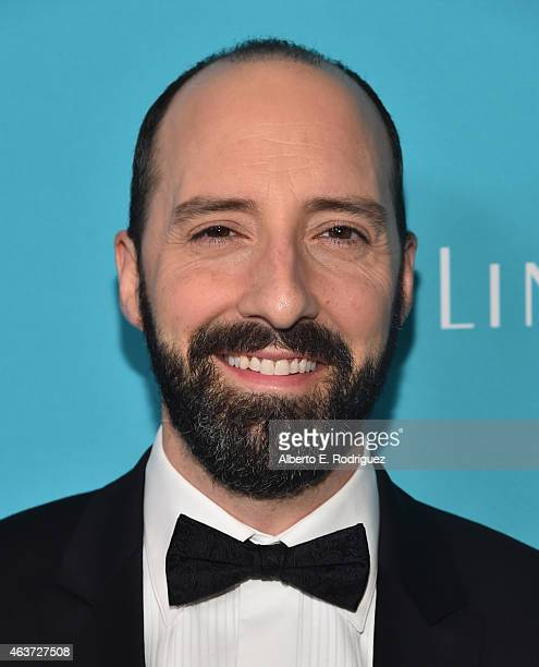 Actor Tony Hale attends the 17th Costume Designers Guild Awards with presenting sponsor Lacoste at The Beverly Hilton Hotel on February 17 2015 in...