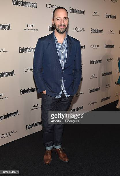 Actor Tony Hale attends the 2015 Entertainment Weekly PreEmmy Party at Fig Olive Melrose Place on September 18 2015 in West Hollywood California