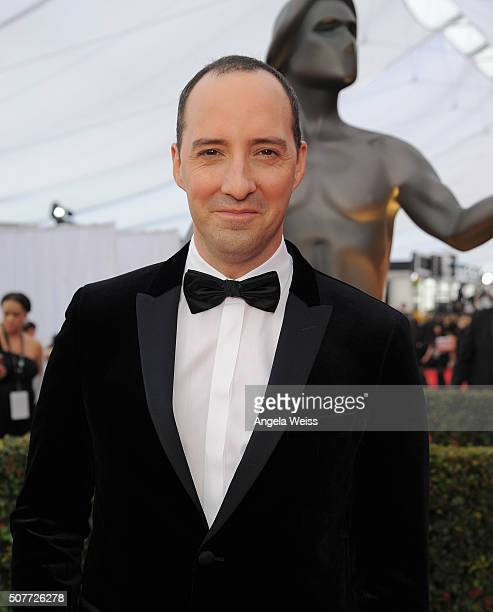 Actor Tony Hale attends the 22nd Annual Screen Actors Guild Awards at The Shrine Auditorium on January 30 2016 in Los Angeles California