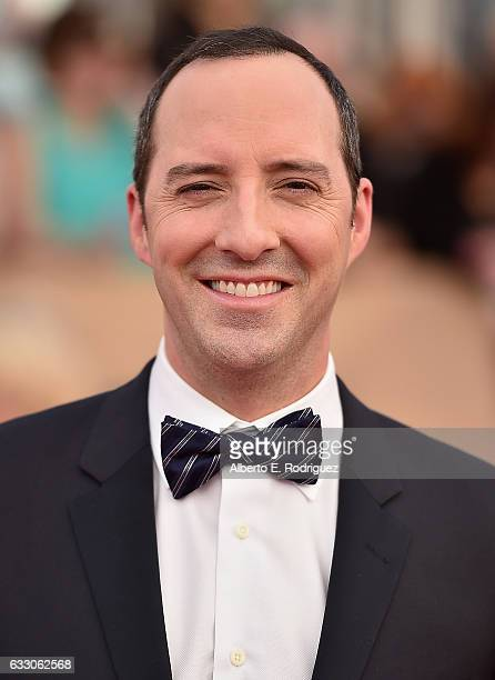 Actor Tony Hale attends the 23rd Annual Screen Actors Guild Awards at The Shrine Expo Hall on January 29 2017 in Los Angeles California