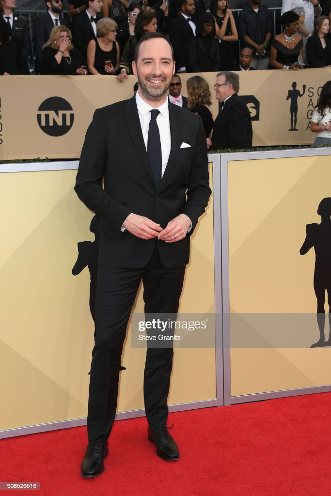 Actor Tony Hale attends the 24th Annual Screen ActorsGuild Awards at The Shrine Auditorium on January 21, 2018 in Los Angeles, California.