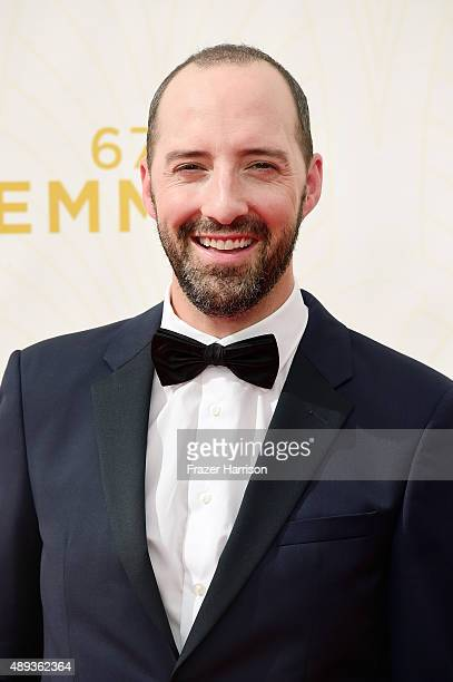 Actor Tony Hale attends the 67th Annual Primetime Emmy Awards at Microsoft Theater on September 20 2015 in Los Angeles California
