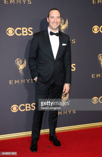 Actor Tony Hale attends the 69th Annual Primetime Emmy Awards Arrivals at Microsoft Theater on September 17 2017 in Los Angeles California