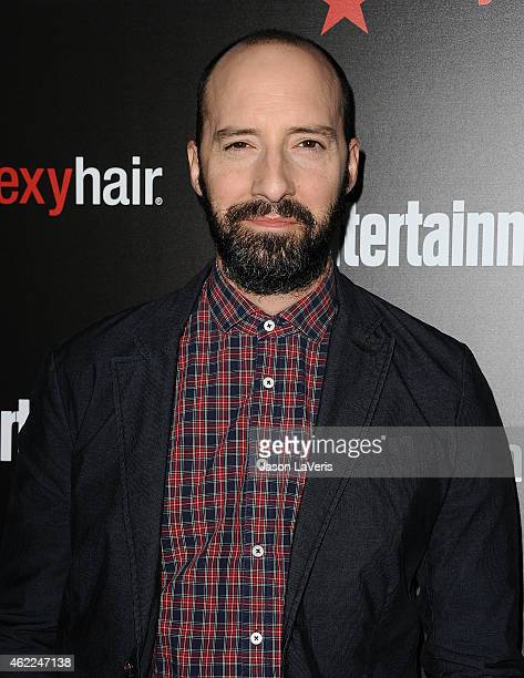 Actor Tony Hale attends the Entertainment Weekly celebration honoring nominees for the Screen Actors Guild Awards at Chateau Marmont on January 24...