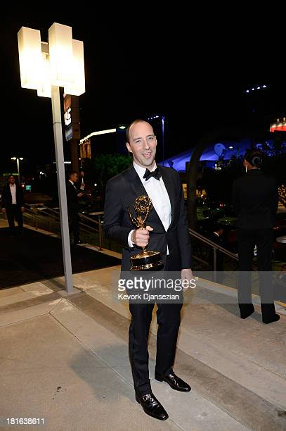 Actor Tony Hale attends the Governors Ball during the 65th Annual Primetime Emmy Awards at Nokia Theatre LA Live on September 22 2013 in Los Angeles...
