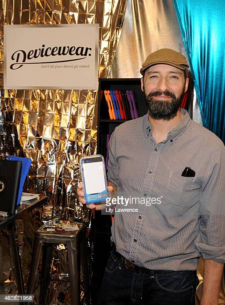 Actor Tony Hale attends the GRAMMY gift lounge during The 57th Annual GRAMMY Awards at the Staples Center on February 5 2015 in Los Angeles California