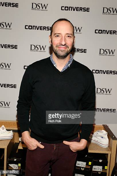 Actor Tony Hale attends the HBO Luxury Lounge at the Four Seasons Hotel Los Angeles at Beverly Hills on January 9 2016 in Los Angeles California