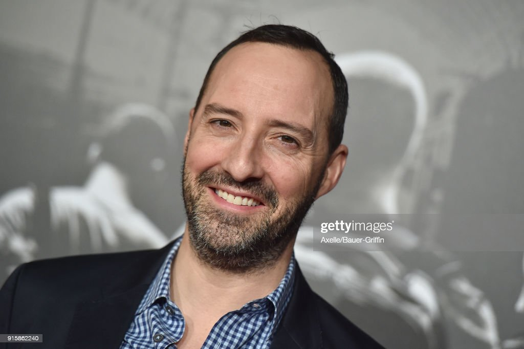 Actor Tony Hale attends the premiere of 'The 15:17 To Paris' at Warner Bros. Studios on February 5, 2018 in Burbank, California.