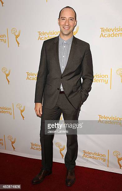 Actor Tony Hale attends the Television Academy's performers peer group celebrating the 66th Emmy Awards at Montage Beverly Hills on July 28 2014 in...