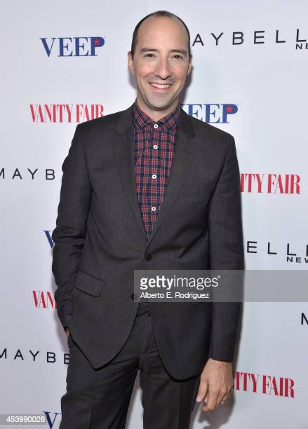 "Actor Tony Hale attends the Vanity Fair and Maybelline New York toast of the Emmy-Nominated ""VEEP"" on August 22, 2014 in West Hollywood, California."