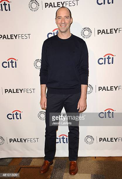 Actor Tony Hale attends the 'Veep' event at the 2014 PaleyFest at Dolby Theatre on March 27 2014 in Hollywood California