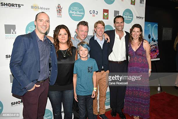 Actor Tony Hale director Stephanie Laing actor Maclaren Laing producer Scott Clackum actor Tim Baltz actor Andy Buckley and actress Jean Villepique...