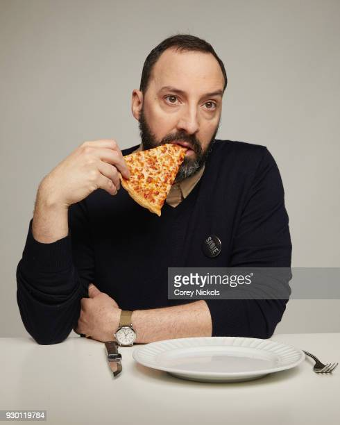 Actor Tony Hale from the film 'Sadie' poses for a portrait in the Getty Images Portrait Studio Powered by Pizza Hut at the 2018 SXSW Film Festival on...