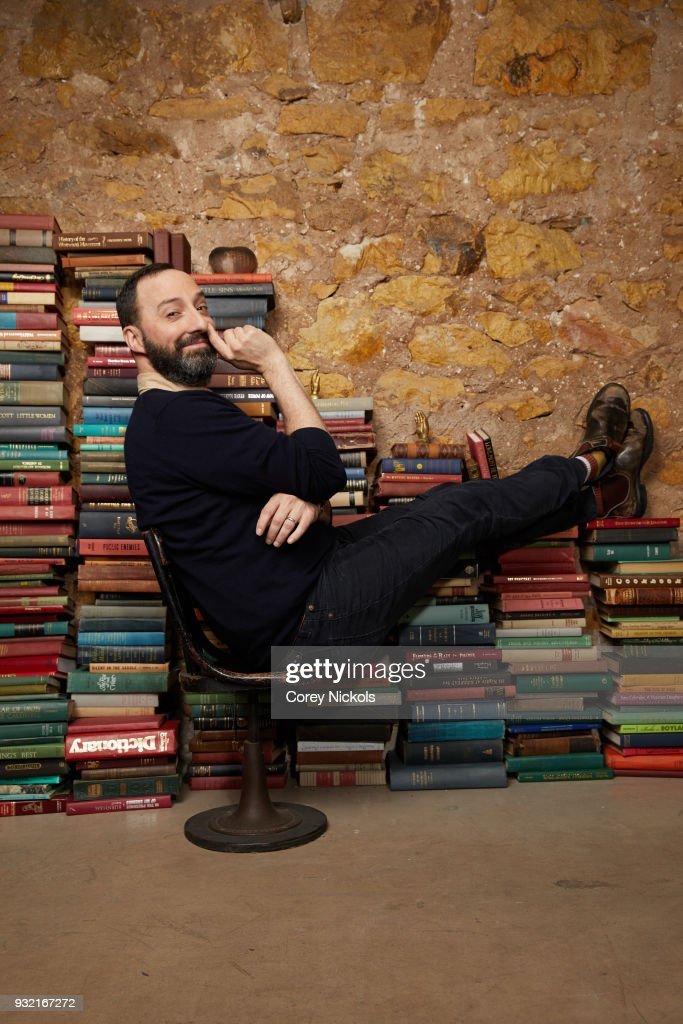 Actor Tony Hale from the film 'Sadie' poses for a portrait in the Getty Images Portrait Studio Powered by Pizza Hut at the 2018 SXSW Film Festival on March 10, 2018 in Austin, Texas.