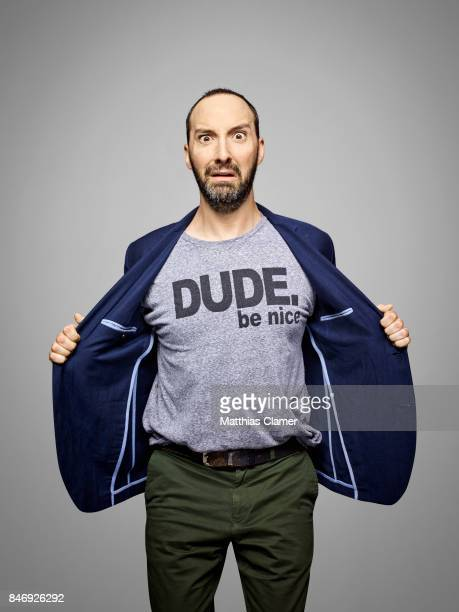 Actor Tony Hale from 'Veep' is photographed for Entertainment Weekly Magazine on July 21 2016 at Comic Con in the Hard Rock Hotel in San Diego...