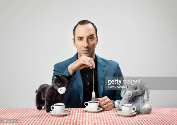 Actor Tony Hale is photographed for The Wrap on July 31 2017 in Santa Monica California