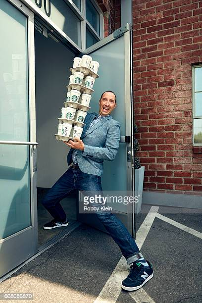 Actor Tony Hale is photographed for The Wrap on June 3 2016 in Los Angeles California