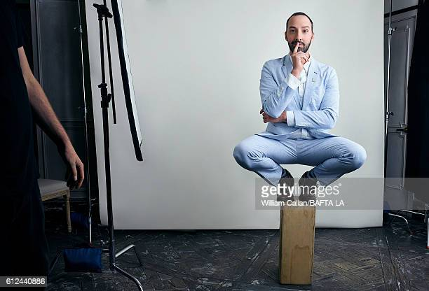 Actor Tony Hale of HBO's 'Veep' poses for a portrait BBC America BAFTA Los Angeles TV Tea Party 2016 at the The London Hotel on September 17 2016 in...