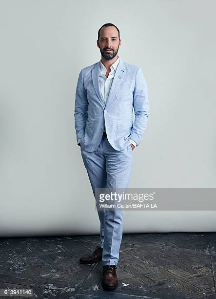 Actor Tony Hale poses for a portrait BBC America BAFTA Los Angeles TV Tea Party 2016 at the The London Hotel on September 17 2016 in West Hollywood...