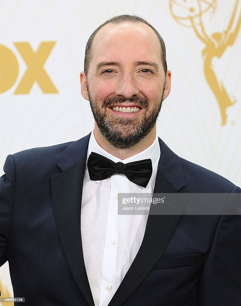 Actor Tony Hale poses in the press room at the 67th annual Primetime Emmy Awards at Microsoft Theater on September 20, 2015 in Los Angeles, California.
