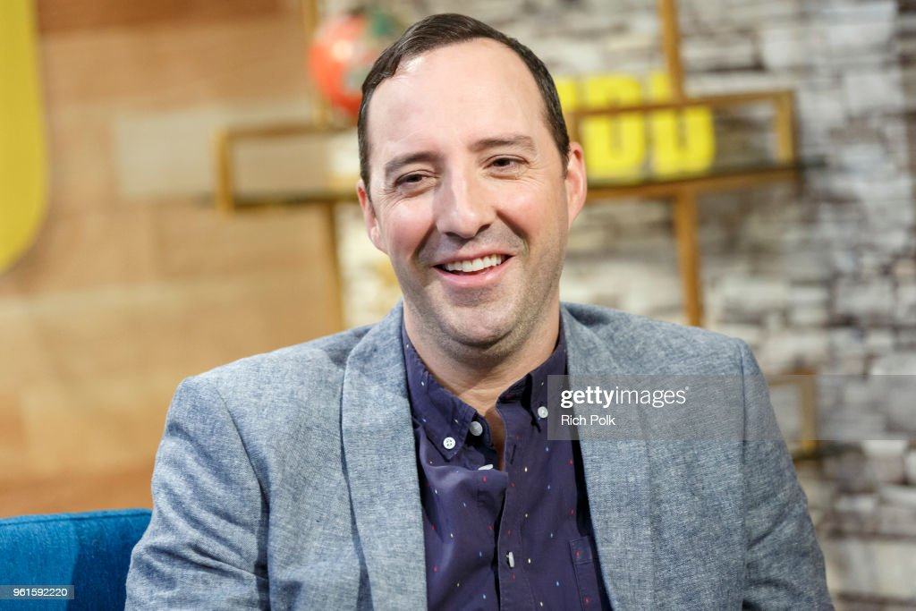 Actor Tony Hale visits 'The IMDb Show' on May 15, 2018 in Studio City, California. This episode of 'The IMDb Show' airs on May 24, 2018.