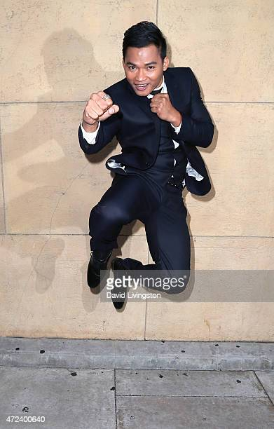 Actor Tony Jaa attends the premiere of 'Skin Trade' at the Egyptian Theatre on May 6 2015 in Hollywood California