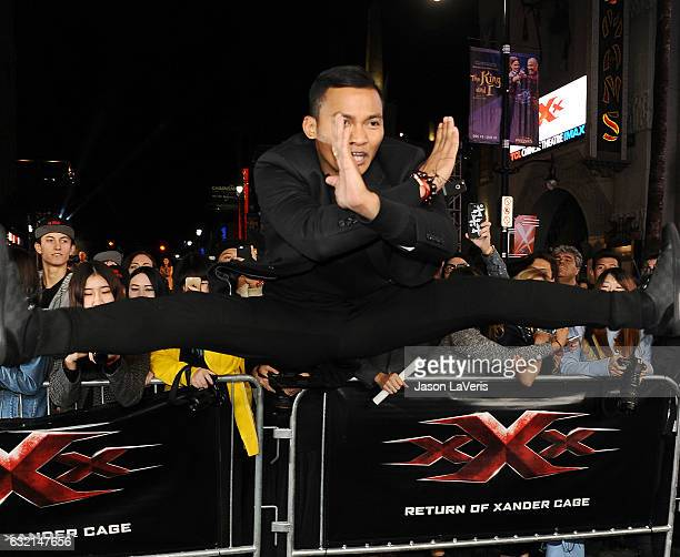 Actor Tony Jaa attends the premiere of 'xXx Return of Xander Cage' at TCL Chinese Theatre IMAX on January 19 2017 in Hollywood California
