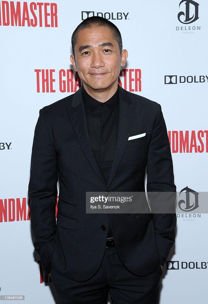 Actor Tony Leung attends 'The Grandmaster' New York Screening at Regal E-Walk Stadium 13 on August 13, 2013 in New York City.