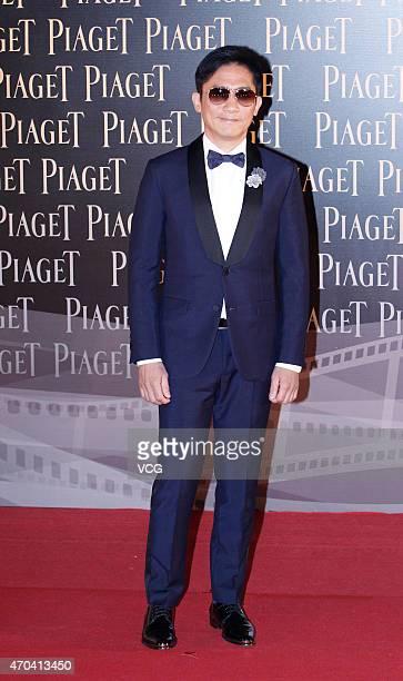 Actor Tony Leung ChiuWai arrives at the red carpet for the 34th Hong Kong Film Awards at Hong Kong Cultural Centre on April 19 2015 in Hong Kong Hong...