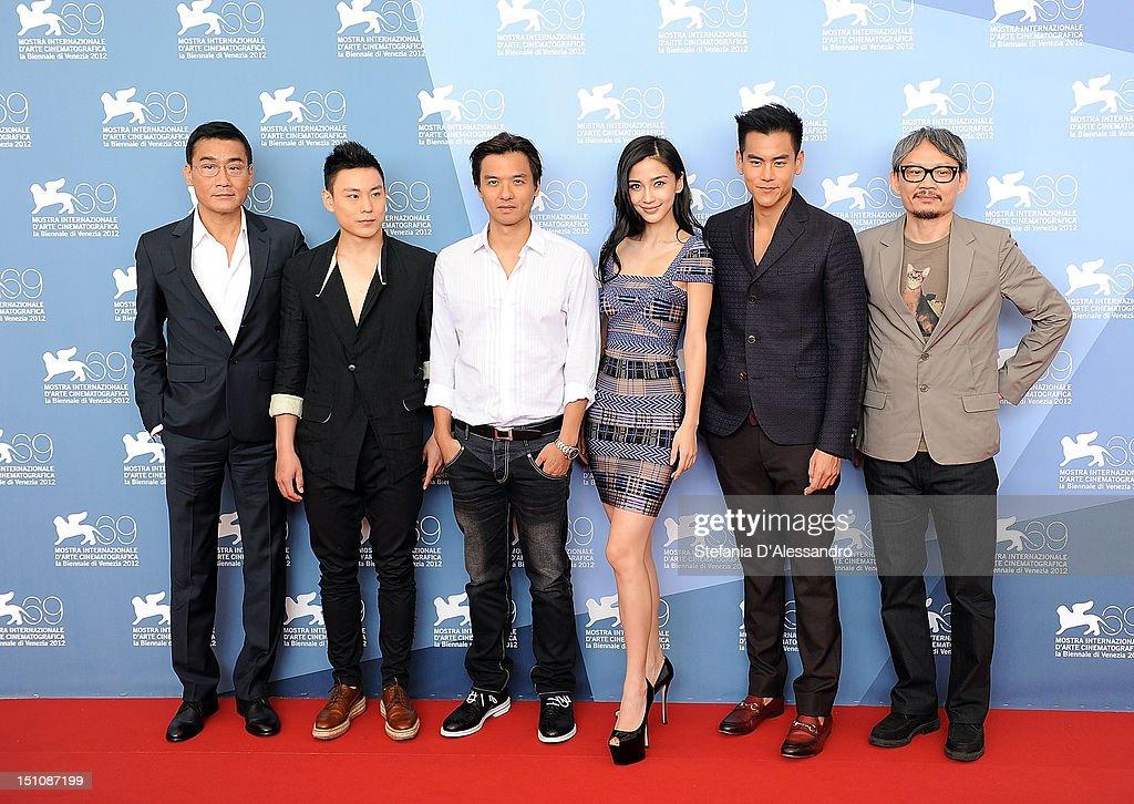 """Tai Chi O"" Photocall - The 69th Venice Film Festival"