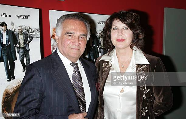 Actor Tony Lo Bianco and guest attend the premiere of Kill the Irishman at Landmark's Sunshine Cinema on March 7 2011 in New York City