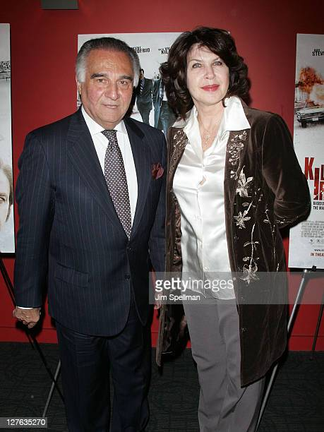 Actor Tony Lo Bianco and guest attend the premiere of 'Kill the Irishman' at Landmark's Sunshine Cinema on March 7 2011 in New York City