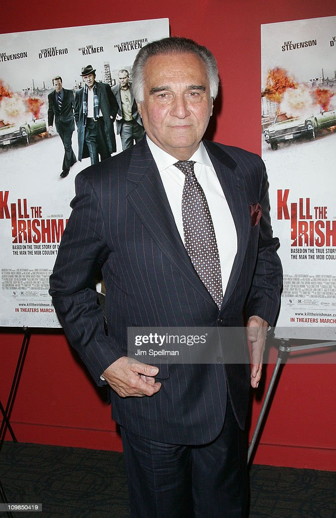 Actor Tony Lo Bianco attends the premiere of 'Kill the Irishman' at Landmark's Sunshine Cinema on March 7, 2011 in New York City.
