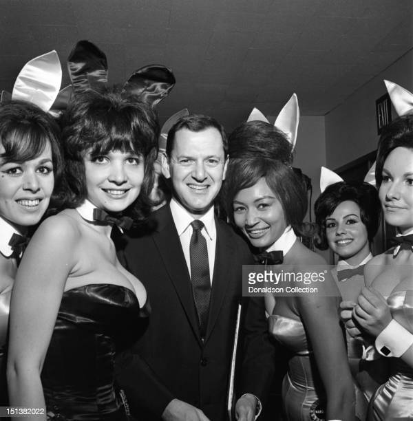 Actor Tony Randall at a dinner for the Motion Picture Pioneers Association at the Playboy Club on November 19 1962 in New York New York