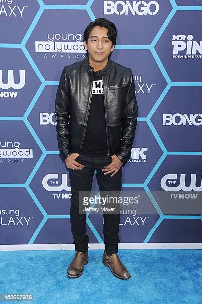 Actor Tony Revolori arrives at the 16th Annual Young Hollywood Awards at The Wiltern on July 27 2014 in Los Angeles California