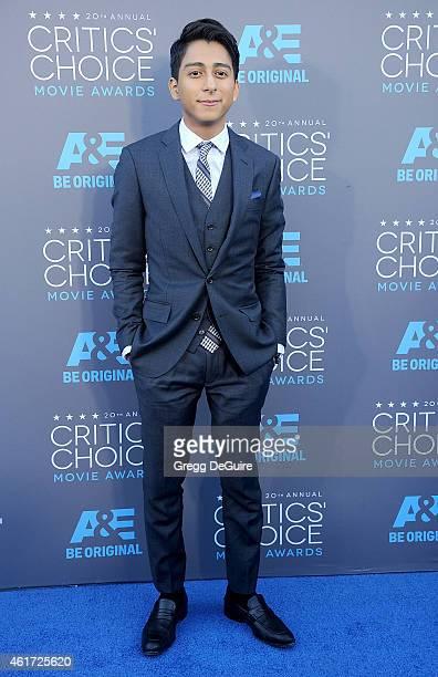Actor Tony Revolori arrives at the 20th Annual Critics' Choice Movie Awards at Hollywood Palladium on January 15 2015 in Los Angeles California