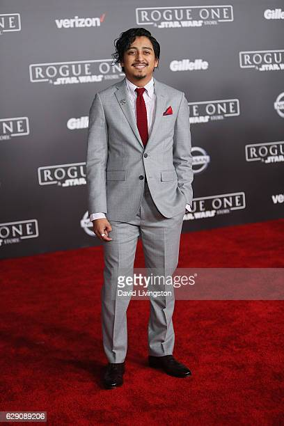 Actor Tony Revolori arrives at the premiere of Walt Disney Pictures and Lucasfilm's Rogue One A Star Wars Story at the Pantages Theatre on December...